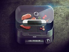 Grill iOS Icon on Behance #ipad #design #icons #iphone #app