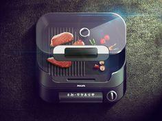 Grill iOS Icon on Behance #ipad #design #icons #iphone #app