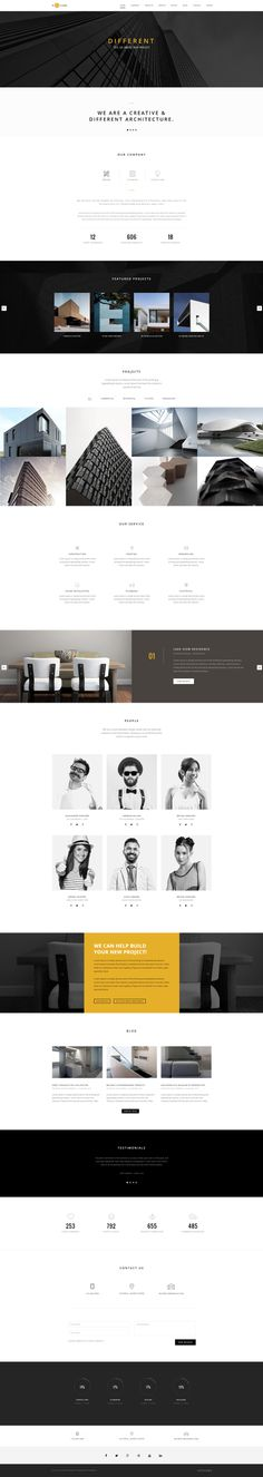 H-Code #Responsive & #Multipurpose #OnePage and #MultiPage #Template For #Architecture by #ThemeZaa http://goo.gl/ygs4kX