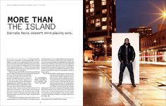 nike sportswea #design #typography #layout #magazine