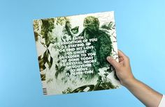 Montée | Christian Bielke #print #design #record #sleeves #vinyl #typography