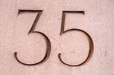ENGLAND II VERNACULAR TYPOGRAPHY #numbers