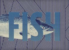 BRAINFISHWARLIMEROSE on the Behance Network #graphic #fish