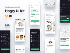 Food Delivery UI Kit Update