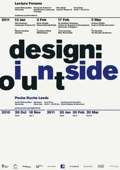 Design: Inside Out | Bibliothèque Design #poster