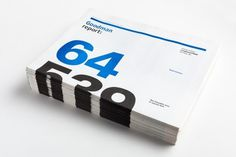 Print / Goodman Report / Work / Burnkit #newsprint #print #annual #report