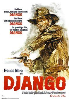 django 1966 Google Search #poster #western #cowboy #django