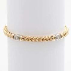 Bracelet with 4 diamonds