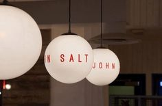 John Salt in London