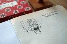 Ex libris collection II on Behance, ex libris, logo, stamp