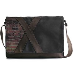 #moss brick #gray #bag #messenger #shoulderbag #brick #algae #tile #wall