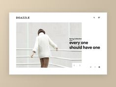 Deazzle Shoe Fashion Website by Fariz Maulana