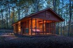One day #cabin #woods #mobile #home