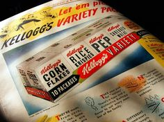 All sizes | LIFE Magazine: Kellogg's Cereal Variety Ad | Flickr - Photo Sharing! #60s #print #kelloggs #vintage #cereal #50s