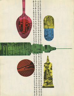 Will Burtin PRINT Mag #design #graphic
