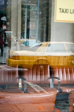 Pedro Correa #taxi #street photography #reflections