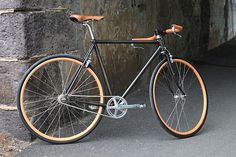 Victoire Cycles for Berluti #urban #bikes #bicycle #built #custom