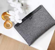 Varia — Design & photography related inspiration #macbook #apple #case #leather #wool #pro