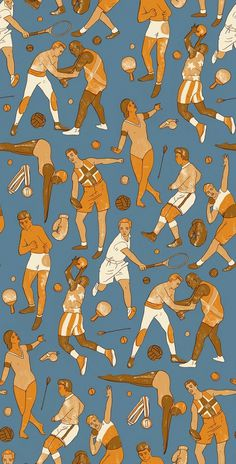 Olympic Pattern - harrydrawspictures #pattern