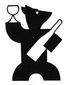 bear1.jpg (500×631) #logo #bear #wine