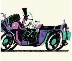 Steve Scott #illustration