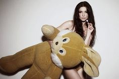 Sex, Drugs & Rock 'n Roll's Photos - No need for words #sexy #jaques #lines #girl #teddy #photography #bear #changing #bagios
