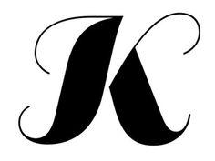 "Sans Display ""K"" Swash"