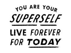 Dribbble - SUPERSELF by Dan Cassaro #type #drawn #typography