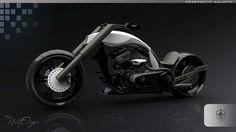 TT New Generation Chopper Motorbike