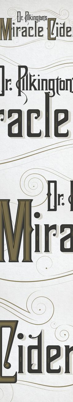 Dr Pilkington's Miracle Cider on Behance #dr #pilkington #miracle #cider #drink