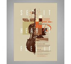 Graphic-ExchanGE - a selection of graphic projects #typography #poster #music