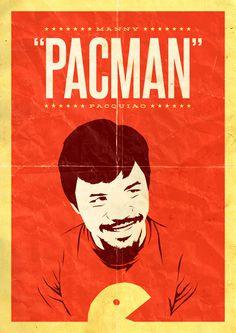 Pacman #vector #pacquiao #pacman #poster #manny