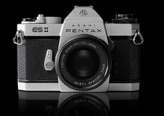 Pentax SLR #design #vintage #industrial #retro #photography