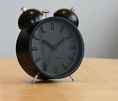Twin Bell Nude Station Alarm Clock #clock #home #alarm
