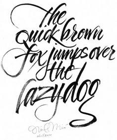 Inici · Home : Oriol Miró #miro #calligrafi #oriol