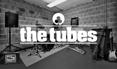 corporate identity / the tubes on the Behance Network #design #graphic #thomas #the #photography #kohl #music #tubes #band