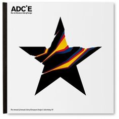 ADC*E Annual 2009 on the Behance Network #graphic design #star #acde