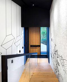 House in Black and White by Radina Gesheva - #architecture, #house, #home, #decor, #interior, #homedecor,