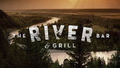 Logos #grill #restaurant #logo #bar #type #river