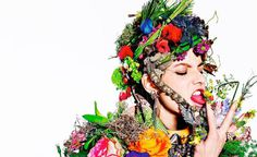 Art + Commerce - Artists - Photographers - Richard Burbridge - Women 1 #fashion #nature #flowers #horticouture