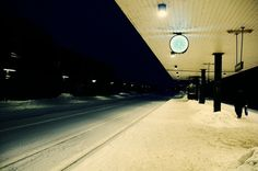 5302960038_fec97616c0_b.jpg (JPEG Image, 1024x680 pixels) #train #snow #station