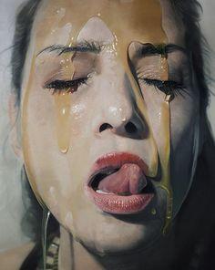Hyperrealistic_Oil_Paintings_by_Artist_Mike_Dargas_2014_01 #real #hyper #painting #art #artist