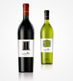 Vino Saterra #bottle #packaging #vino #design #graphic #wine #pack