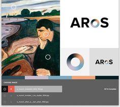 Thorbjørn Gudnason — ARoS Aarhus Kunstmuseum #generative #branding