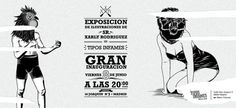82dfd98f4f6b6456595c4f429b13b459.jpg (JPEG Imagen, 1664x768 pixels) #xarlyrodriguez #illustration #lucreativo #poster #type #blackandwhite