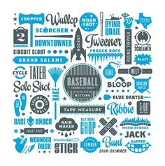 Eephus League Magazine #baseball #type #illustration