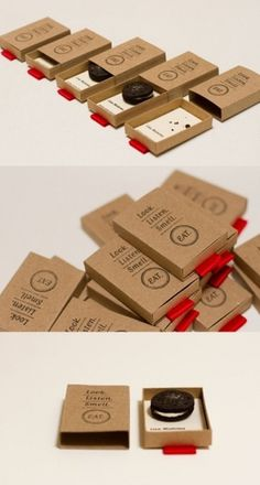 Matchbox Style Business Card | Business Cards Observer #packing #business #print #cards #typography