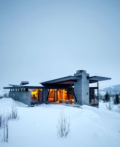 Rustic Luxury Mountain House -#architecture, #house, #home, home, architecture
