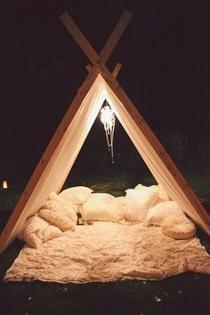 beautiful and simple #shelter #nest #outdoors #space #simple #hut #light