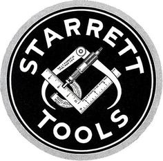 Designersgotoheaven.com -Â Starrett tools 1928 ... - Designers Go To Heaven #logo #vintage